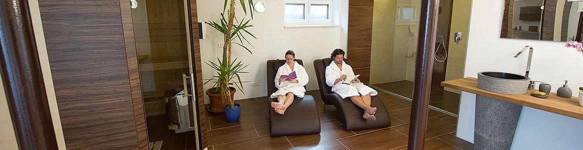 Neue 50qm Sauna- und Wellnessanlage